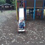 uitstap naar de speeltuin