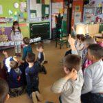 Spelen in de giraffenklas + leren rond de 'tijd'