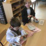 Letters en boeken in de klas